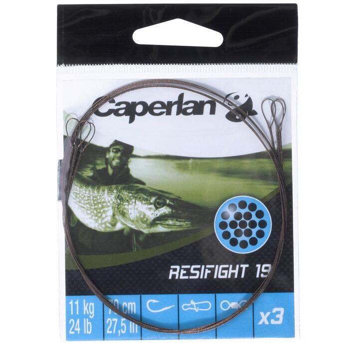 Voorslag roofvissen Resifight 19 2 lussen 11 kg