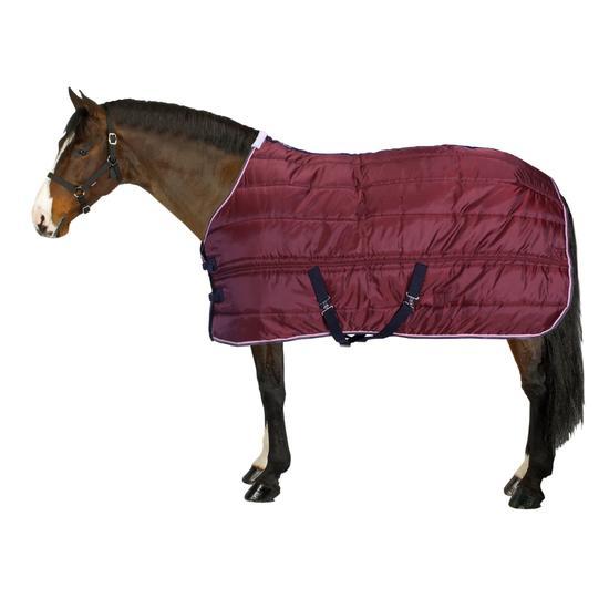 Staldeken Stable 200 ruitersport bordeaux - paard - 826218