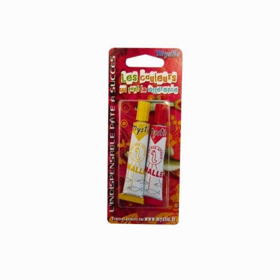 Aas/granen voor hengelsport Set 2 tubes Mystic kneedbaar - 826261