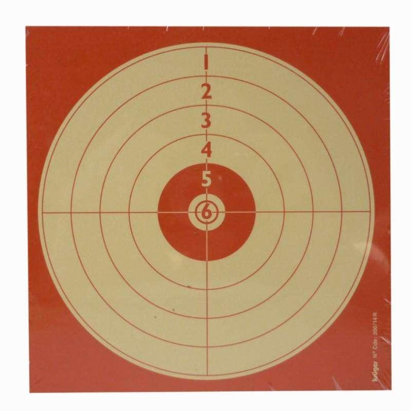 METE/OLOVO KOMPRIMIRANI ZRAK 4.5MM Streljaštvo - META ZA REKREATIVNO GAĐANJE AC KRUGER DRUCK PLUS VE - Malokalibarsko streljaštvo