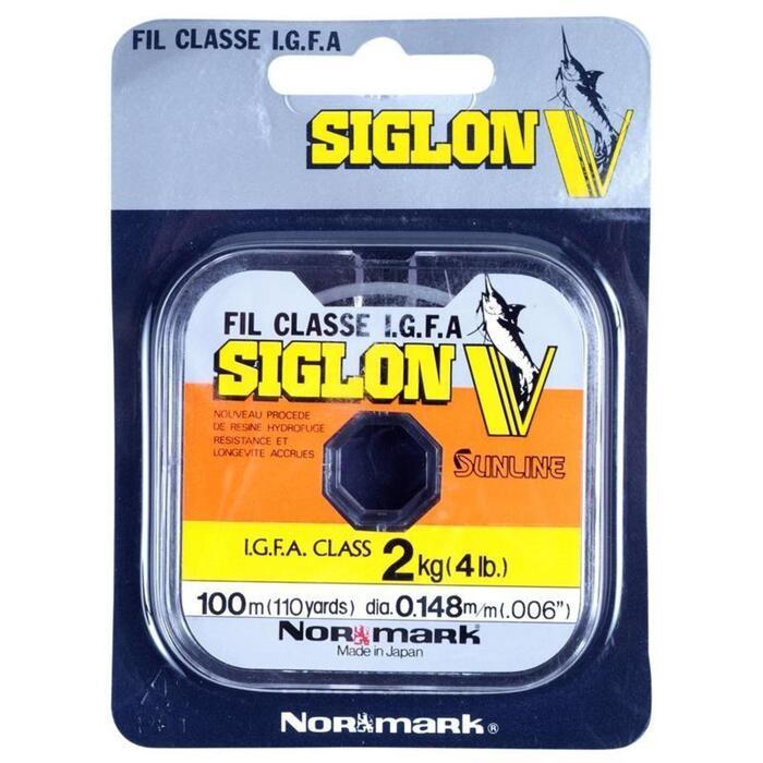 FILS PECHE TRUITE SIGLON V CRISTAL 100M - 826775