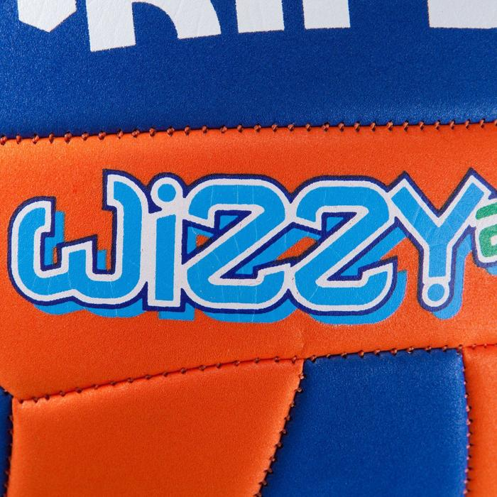 Ballon de volley-ball Wizzy 260-280g blanc et bleu à partir de 15 ans - 827116