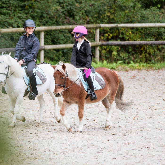 Veste Softshell équitation enfant 500 - 827163
