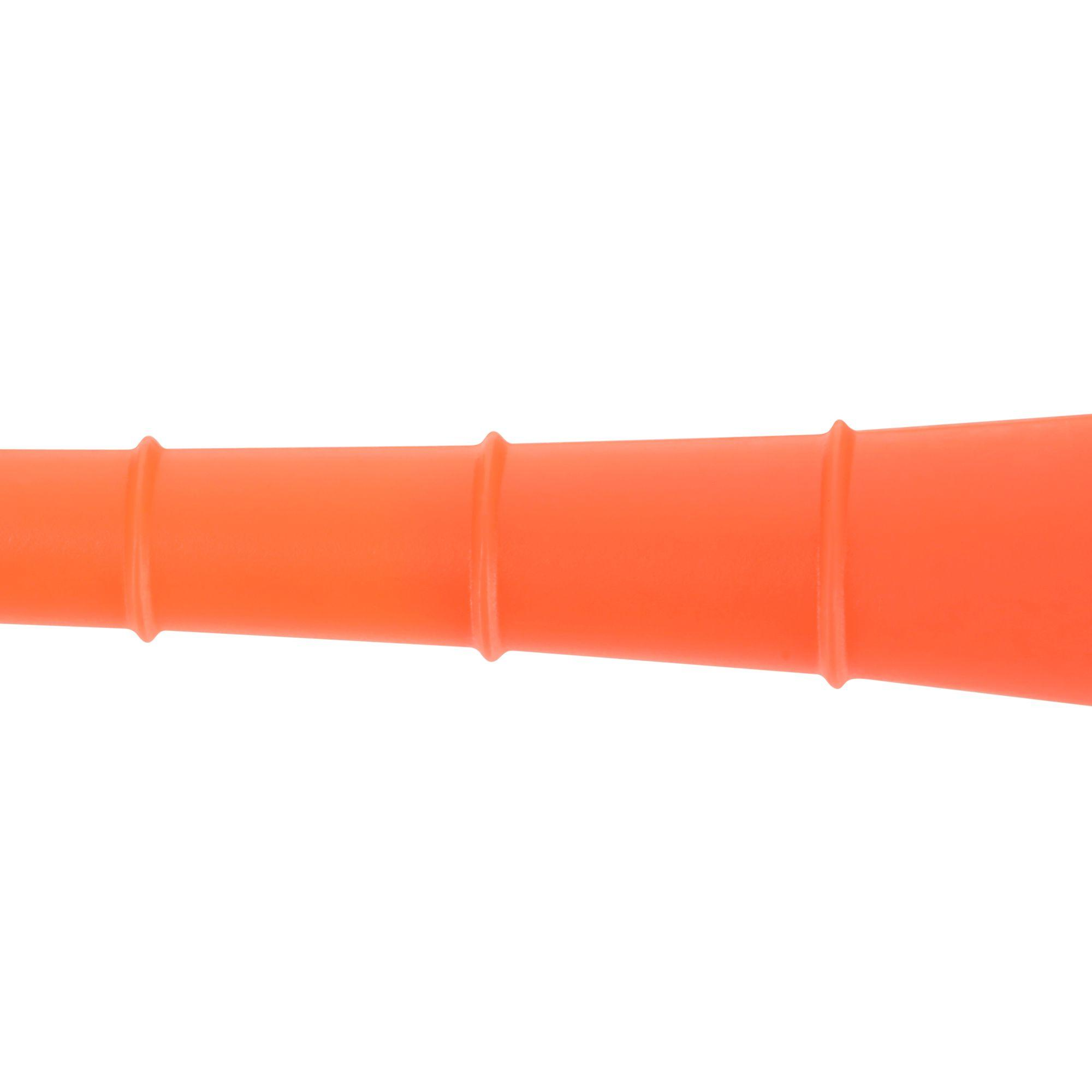 70 mm Plastic Tee x10 - Orange
