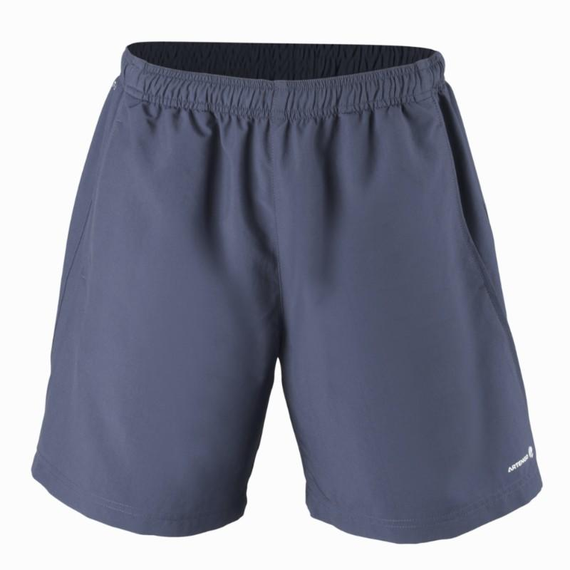 Essential 100 Tennis Badminton Padel Table Tennis Squash Shorts - Navy