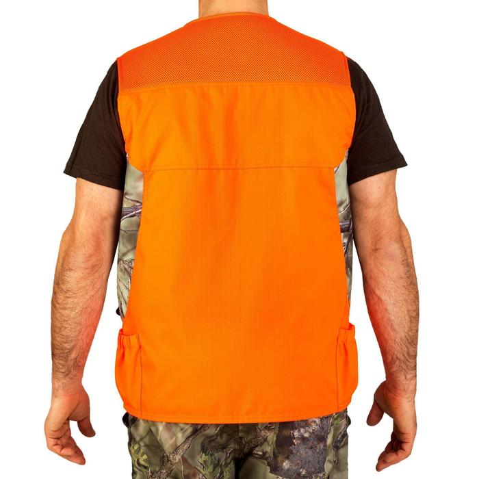 Gilet chasse renfort 500 Camofluo - 827352
