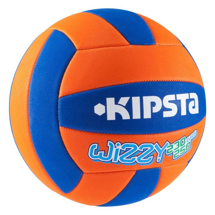 Volleybal Wizzy 230-250 g oranje/blauw voor 10-14 jaar
