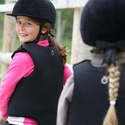 Bodyprotector Safety 100 voor kinderen, ruitersport - 827649
