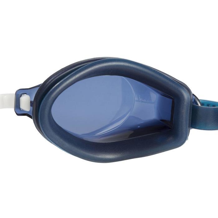 100 AMA泳鏡L號藍白色