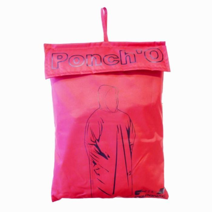 Poncho Glenarm 100 roze