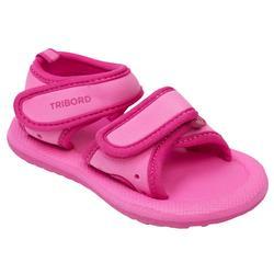 Sandales de plage bébé fille unie