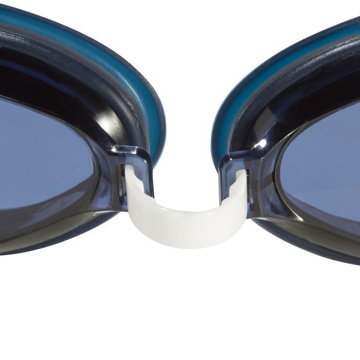 100 AMA 泳鏡,L號藍白色