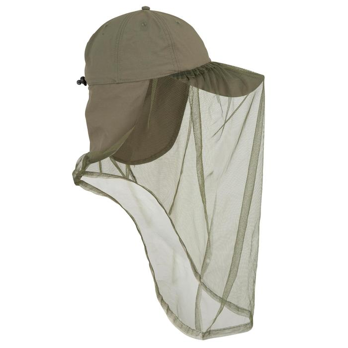 Casquette anti-moustique chasse Steppe 300 mosquito vert - 82799