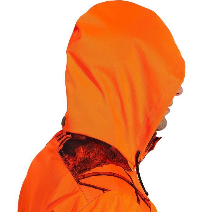 Regenjas voor de jacht Supertrack 100 fluo