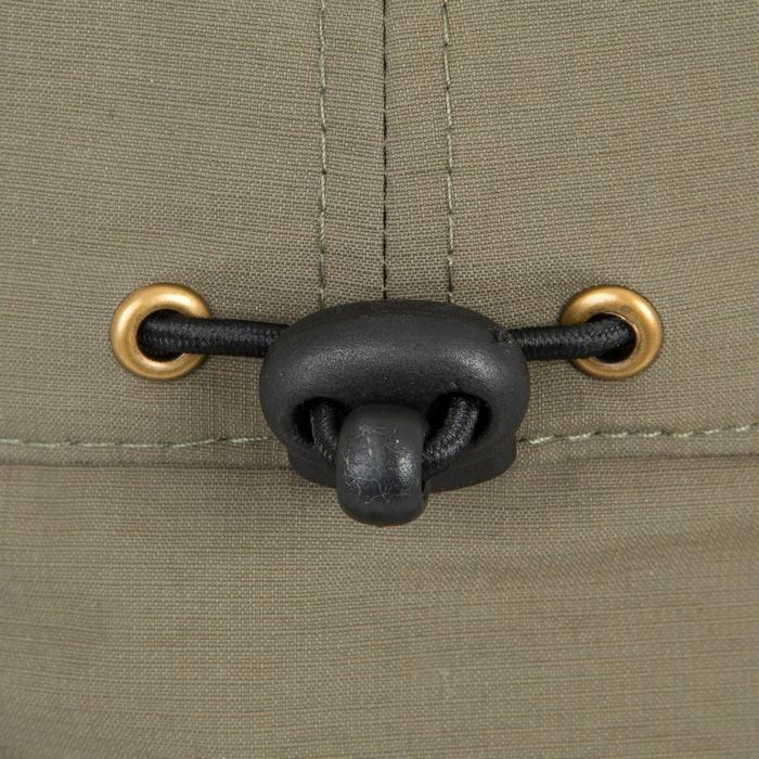 Jagd-Schirmmütze Steppe 300 mit Mückenschutz grün