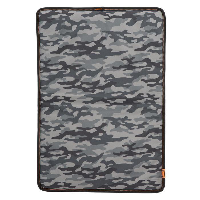 Tapis chien 100 camouflage noir