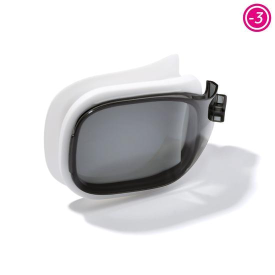 Corrigerende zwembril Selfit corr. -2 maat L rookglas Nabaji - 828117