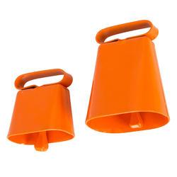 Fluo-oranje hondenbelletje
