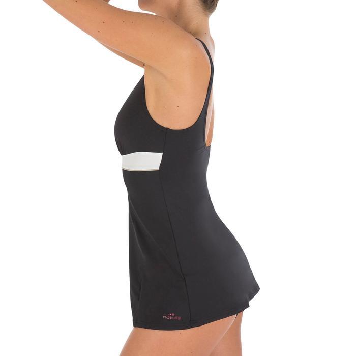 Badeanzug Kaipearl Skirt figurformend Damen schwarz