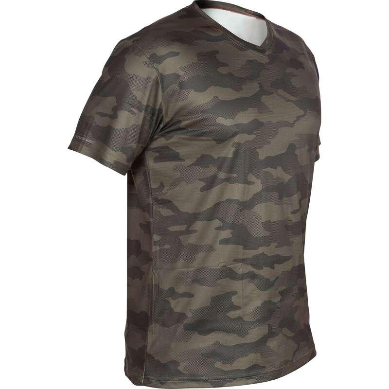 Одежда на теплую погоду Большие размеры - Футболка 100 MC  SOLOGNAC - Большие размеры