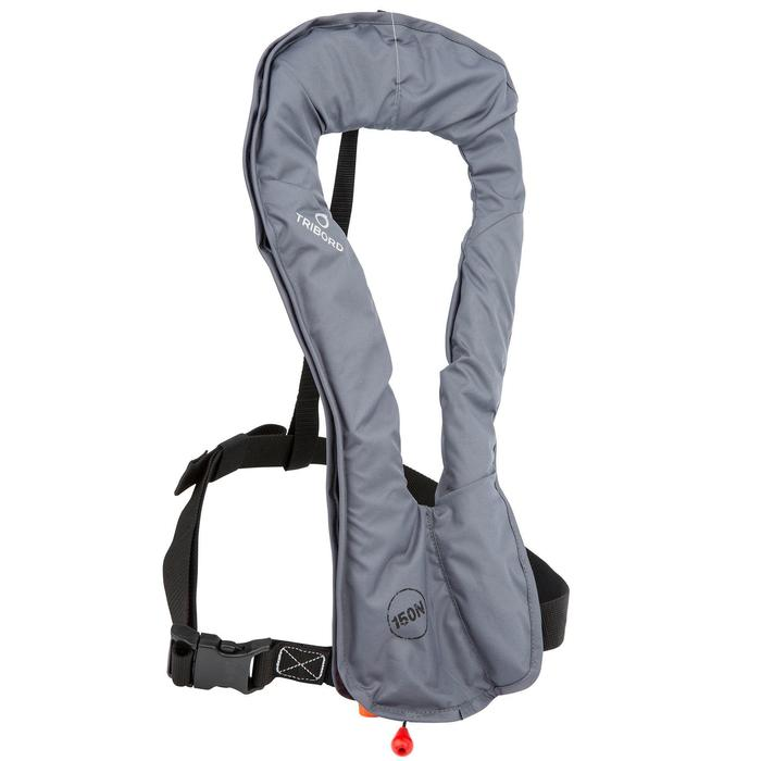 Gilet de sauvetage gonflable adulte LJ 150N AIR gris - 828785