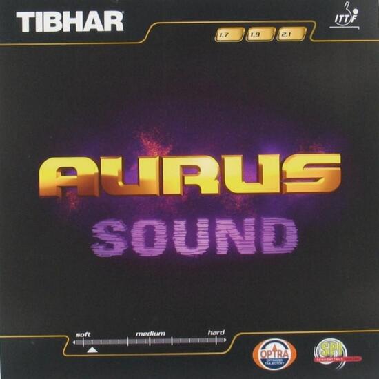 Rubber voor tafeltennisbatje Tibhar Aurus Sound - 828809