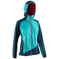 Women's Mountaineering Light Softshell - Caribbean Blue