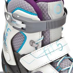 Skeelers Fitness Fit 5 voor dames grijs/blauw - 828891