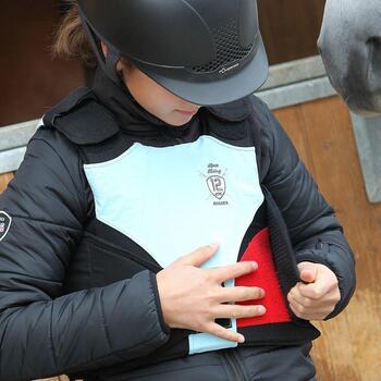 Veste équitation enfant SAFY noir - 829458