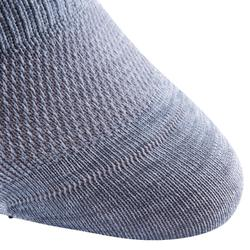 Calcetines antideslizantes Pilates y Gimnasia suave gris