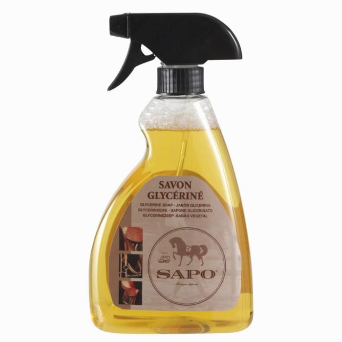 Savon glycériné pour cuir en spray équitation - 500ml - 829804