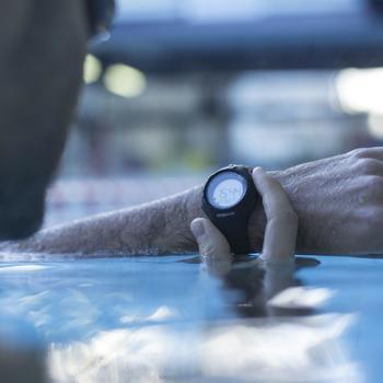 Montre digitale sport femme junior W200 S timer bleu & - 830188
