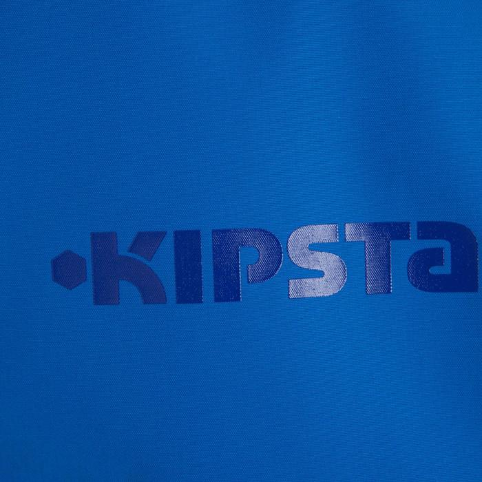 Veste imperméable de football enfant T500 bleu - 830526