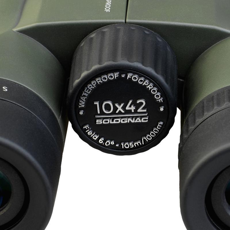 กล้องส่องทางไกล 10X42 รุ่น 100 (สีเขียว)
