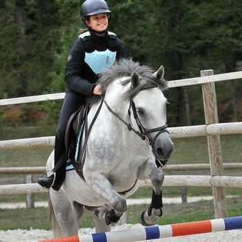 Veste équitation enfant SAFY noir - 831095