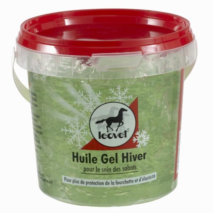 Aceite gel para cascos equitación caballo y poni INVIERNO 500 ml