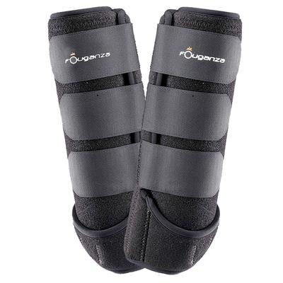 Neoprene Horse Riding Neoprene Combination Boots Twin-Pack - Black