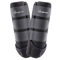 Neoprene Horseback Riding Combination Boots Twin-Pack - Black