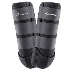 Neoprene Horseback Riding Combination Boots Twin-Pack - Black