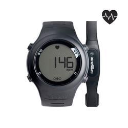Orologio cardiofrequenzimetro running ONRHYTHM 110 nero