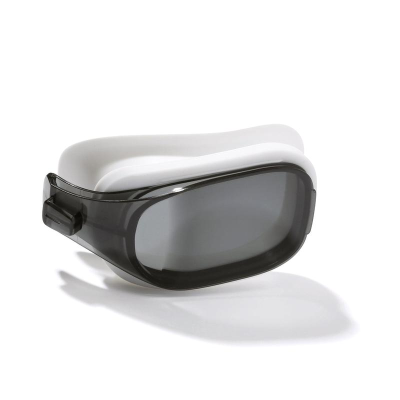 LENS FOR CORRECTIVE SWIMMING GOGGLES SELFIT SMOKED SIZE L / 0.00