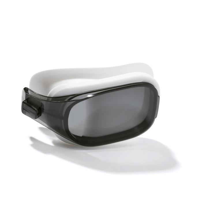 Brillenglas Stärke -4 für Schwimmbrille 500 Selfit Größe L getönt