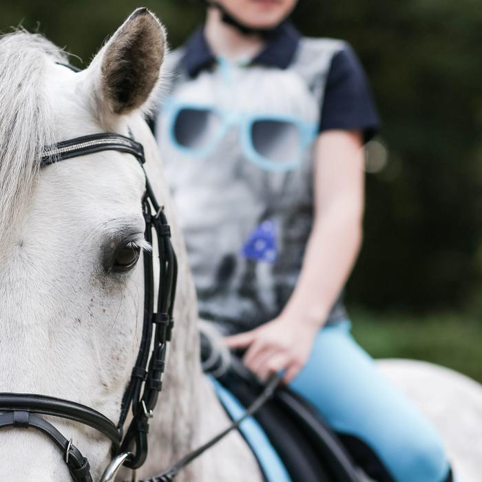 Filet + rênes équitation STRASS noir -  cheval - 831951