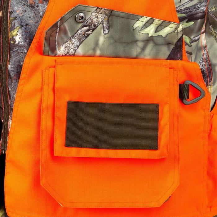Vest Renfort 500 voor de jacht fluo camo - 832052