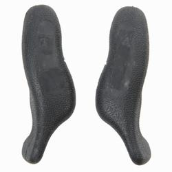 Ergonomische bar-ends zwart