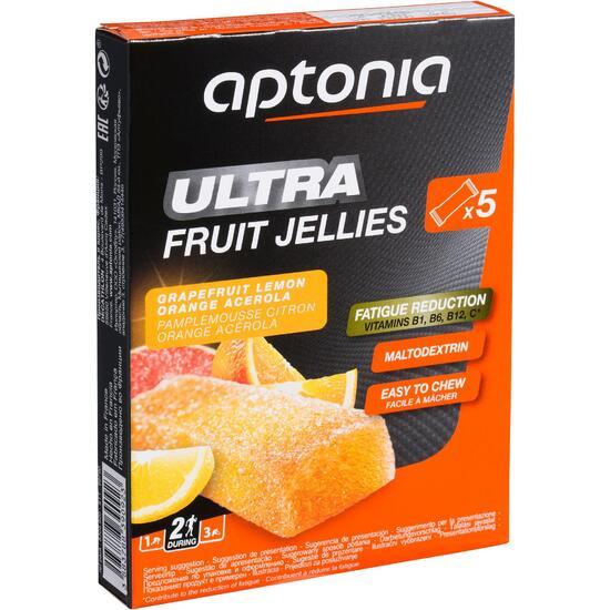 Jellybar citrusvruchten 5x25 g - 832249