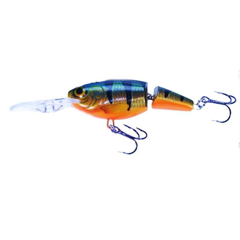 WOBLERY 6 AŽ 10 CM Rybolov - JOINTED SHAD RAP 07 P RAPALA FRANCE - Návnady a nástrahy na ryby