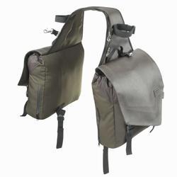 Gusas sacos equitação passeio SENTIER castanho