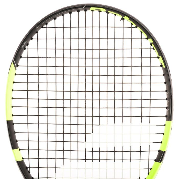 Tennisschläger Pure Aero Team besaitet gelb/schwarz