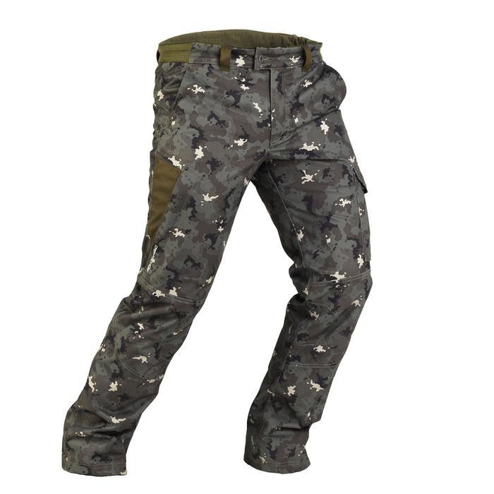 Pantalon chasse imperméable chaud 500 - 832844